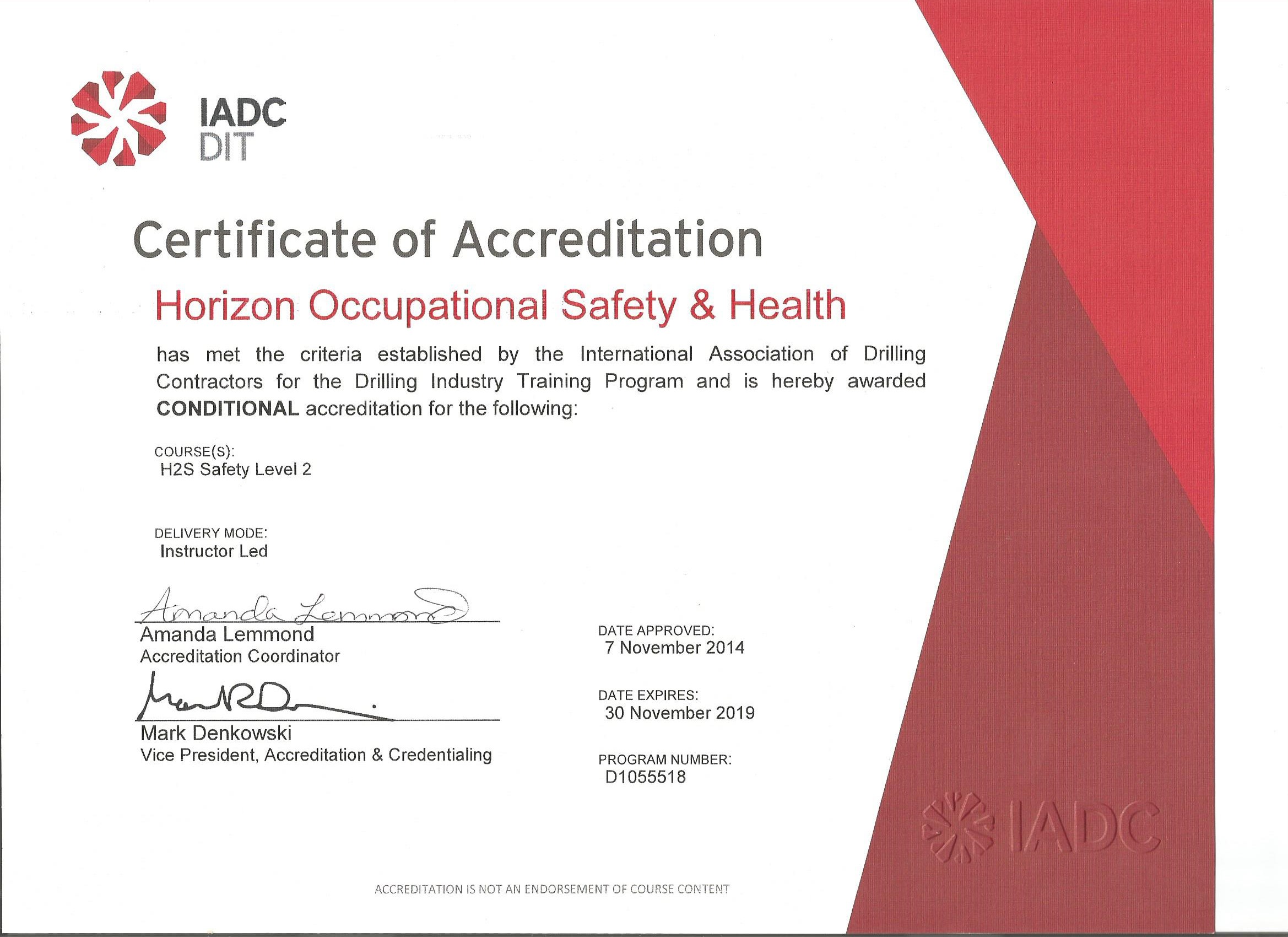 Horizon Occupational Safety Health Training Institute Private